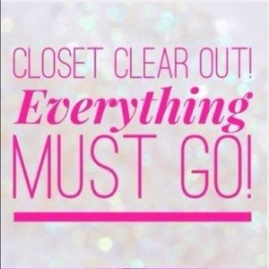Other - Closet Clean out!